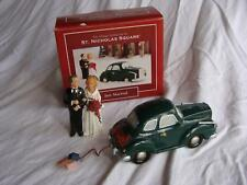 St Nicholas Square Village Collection Just Married Lighted Car Original Box EUC