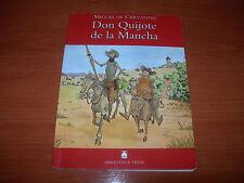DON QUIJOTE DE LA MANCHA - MIGUEL DE CERVANTES - TEIDE (MUY BUEN ESTADO)