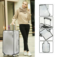 Protective PVC Travel Dust proof Baggage Protector Suitcase Cover Storage Case