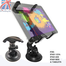 UK Universal Car Windscreen Mount Holder for iPad 1 2 3 4 Mini & Google NEXUS 7