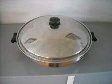 "SALADMASTER 7 QUART 15"" WOK TP304S SURGICAL STAINLESS STEEL WATERLESS"
