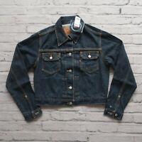 Vintage NEW 90s Levis Type 2 Denim Trucker Jacket Womens Size M
