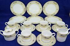 Porzellanfabrik Tirschenreuth Bouquet-6 Plates-6 Cups & Saucers Creamer & Sugar