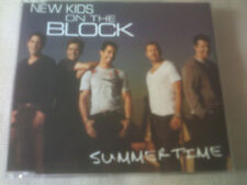 NEW KIDS ON THE BLACK - SUMMERTIME - UK PROMO CD SINGLE