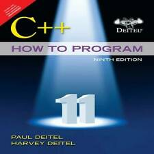 C++ How To Program, 9Th Edition - Paperback By Unknown - VERY GOOD