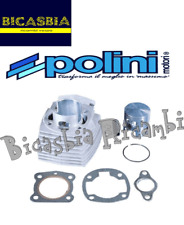 10699 - CILINDRO POLINI EN ALUMINIO CROMADO DM 46 - 65 CC HONDA 50 WALLAROO