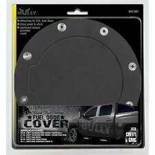 Fuel Door Covers T-304 Stainless Steel Textured Black Powder Coat BBS-2301