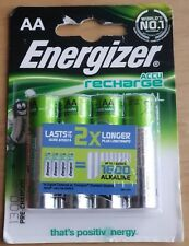 Energizer Universal AA HR6 1300mAh baterías recargables | 4 Pack