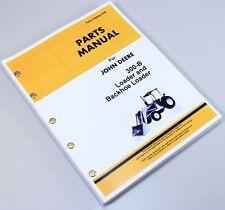 JOHN DEERE JD 300-B 300B LOADER BACKHOE PARTS MANUAL CATALOG ASSEMBLY NUMBERS
