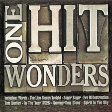 One Hit Wonders (50 tracks) F.R. David, Bobby McFerrin, The Tokens, Nor.. [2 CD]