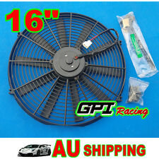 "16"" 16 inch Universal Electric Radiator /Intercooler COOLING Fan & mounting kit"