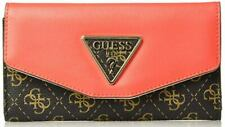GUESS Maddy Slim Clutch Wallet, Brown/Multi