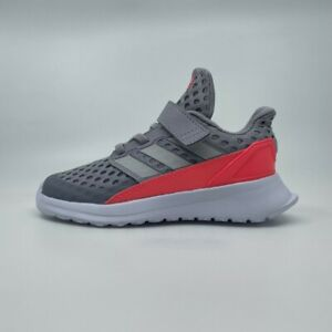Adidas Boys Trainers Size UK 5 7 7.5 9 9.5 Infant 👟 GENUINE RapidaRun® EL Grey
