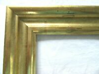 "SM Antique Fits 3 X 5"" Gold GILT Picture Frame Wood Fine Art MINIATURE COUNTRY"