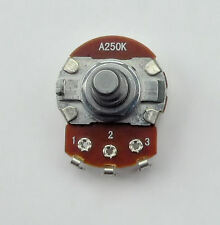 250K Audio Log pot A250K 24mm for Valve & Guitar Amplifiers volume potentiometer