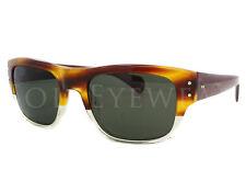 NEW Oliver Peoples Evason Amber Tortoise Buff G15 Polar OV5243-1239P1 Sunglasses