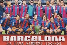 Foto de equipo de fútbol FC Barcelona > 2004-05 temporada