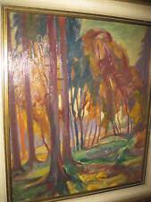 PROTZEN Carl Th., *1887 Expressionistische Parklandschaft