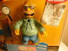 2001 The SIMPSON`s interactive figure WOS series 1  GRAMPA SIMPSON    first year
