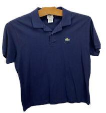 Lacoste Mens Polo Shirt Navy Blue Short Sleeve 100% Cotton Pullover Golf 7 2XL