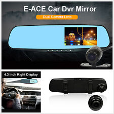 HD1080P Car DVR Dash Camera Dual Cam Vehicle Front Rear DVR Lens Video Recorder