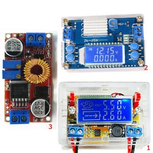 1 pc 5A Step-Down Buck Power Module converter DC-DC 1.25-36V with LCD Displayer