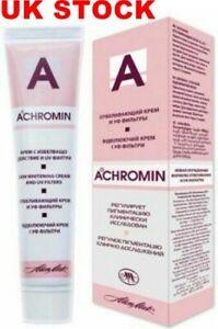ACHROMIN Whitening Cream Skin Body Lighten Pigmentary Patches Dark Age Spots UK