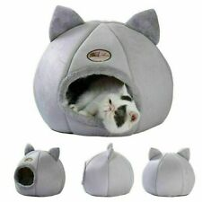 Warm Hunde Katzen Höhlennest Haustier Katzen Nest Haus Bett Katzenhöhle Neu