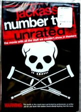 Jackass: Number Two (DVD, 2006, Unrated Widescreen Version) New-Factory Sealed