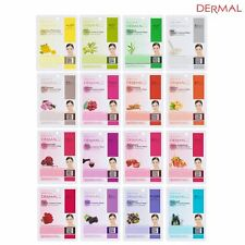 [Ship From USA] Dermal Korea Collagen Essence Facial Mask Sheet (16 Combo Pack)