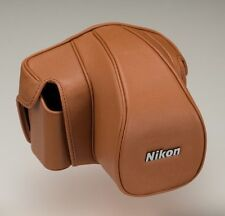 Nikon Semi Soft Case CF-DC6 Brown for Single-Lens Reflex Camera Df NEW Japan F/S