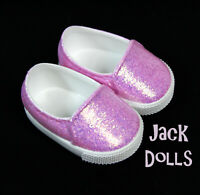 NEW Truly Me Meet Shoes American Girl Doll 2020 Style Pink Glitter Rubber