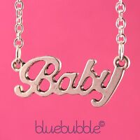FUNKY VINTAGE STYLE WORD NECKLACE CUTE KITSCH RETRO SWEET BOHO CHIC FUN FESTIVAL