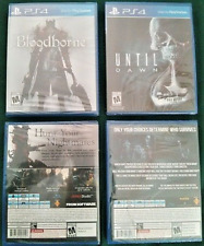 Bloodborne AND Until Dawn (2 PS4 Exclusive RPGs) BRAND NEW SEALED +BONUS C0UP0NS