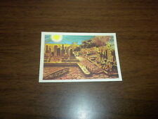 MISSILES AND SATELLITES trading card #22 PARKHURST 1958 space rockets planets
