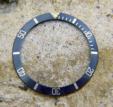 Genuine Rolex Submariner 16803 16808 Faded Black Blue Tritium Watch Bezel Insert