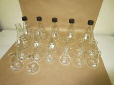 Pyrex, Kimax Erlenmeyer Flasks 250, 500, 1000 and 2000mL Mixed Lot of 21