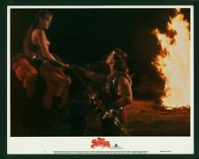 Red Sonja original 1985 lobby card 11x14 Brigitte Nielsen Arnold Schwarzenegger