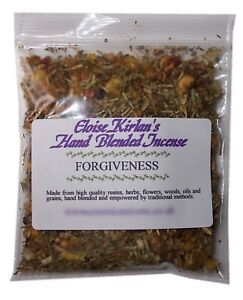 FORGIVENESS Hand Blended Incense, Forgive yourself and others.