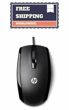 HP X500 Wired Mouse (USB 2.0, Black) dpi genuine new laptop desktop PC mouse