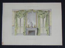 LA TENTURE FRANÇAISE 1905 - Salon Louis XV - décoration tapisserie 93