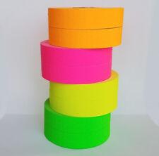 Monarch 1136 price gun Pink Green Orange Yellow Fluorescent 2 Rolls Each w Ink