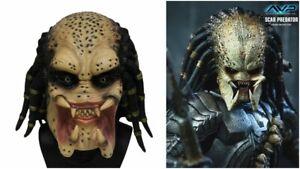 Alien Predator Mask Adults halloween Fancy Dress Theme Costume cosplay latex AVP