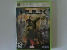 The Incredible Hulk (Microsoft Xbox 360) Comes complete.Disk has light scratches