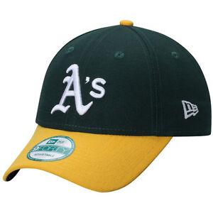 Oakland Athletics Cap MLB Baseball New Era 9Forty Cap Kappe Klettverschluß