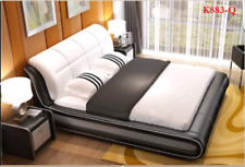 ITALIAN DESIGN QUEEN SIZE 2017 model K883-Q PU LEATHER BED FRAME