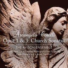Arcangelo Corelli Church Sonatas op.1 & 3 The Avison Ensemble Linn Records 2 CDs