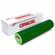ORACAL 651 Outdoor Permanent Vinyl - GREEN 12in x 10ft Roll
