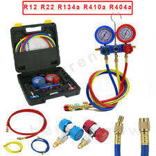 Car Refrigeration Kit AC Manifold Gauge Leakage Set Air R12 R22 R134a 410a R404a