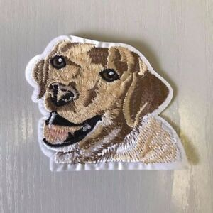 Labrador Embroidered Iron or Sew on Applique, Badge, Patch